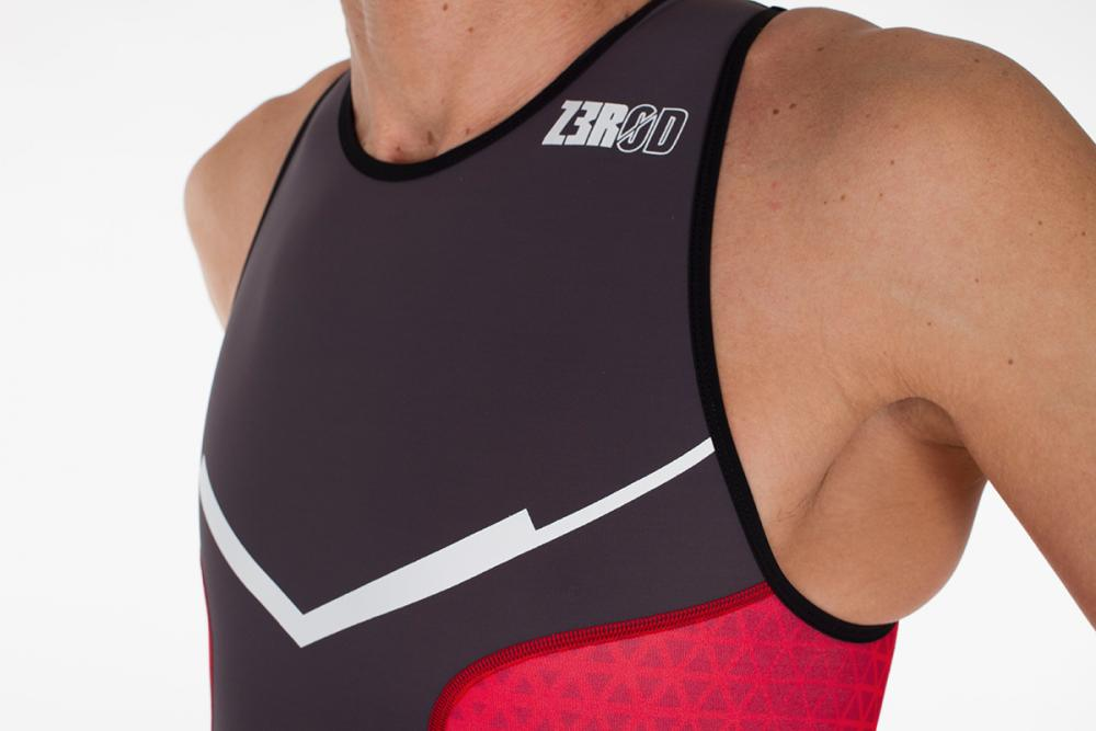 TRISUIT MAN RED