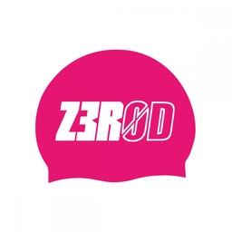 SWIM CAP PINK LARGE LOGO